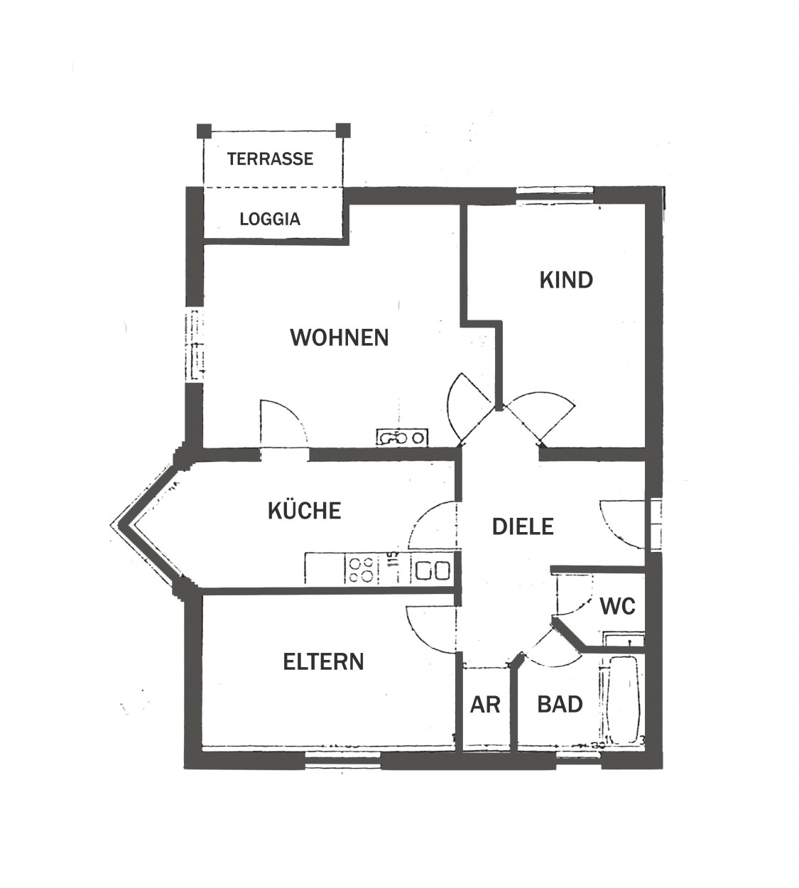 k stendorf tannerstra e1 top 4 salzburg wohnbau. Black Bedroom Furniture Sets. Home Design Ideas