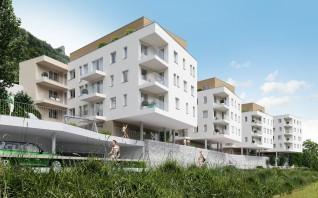 Hallein, Neues Ufer